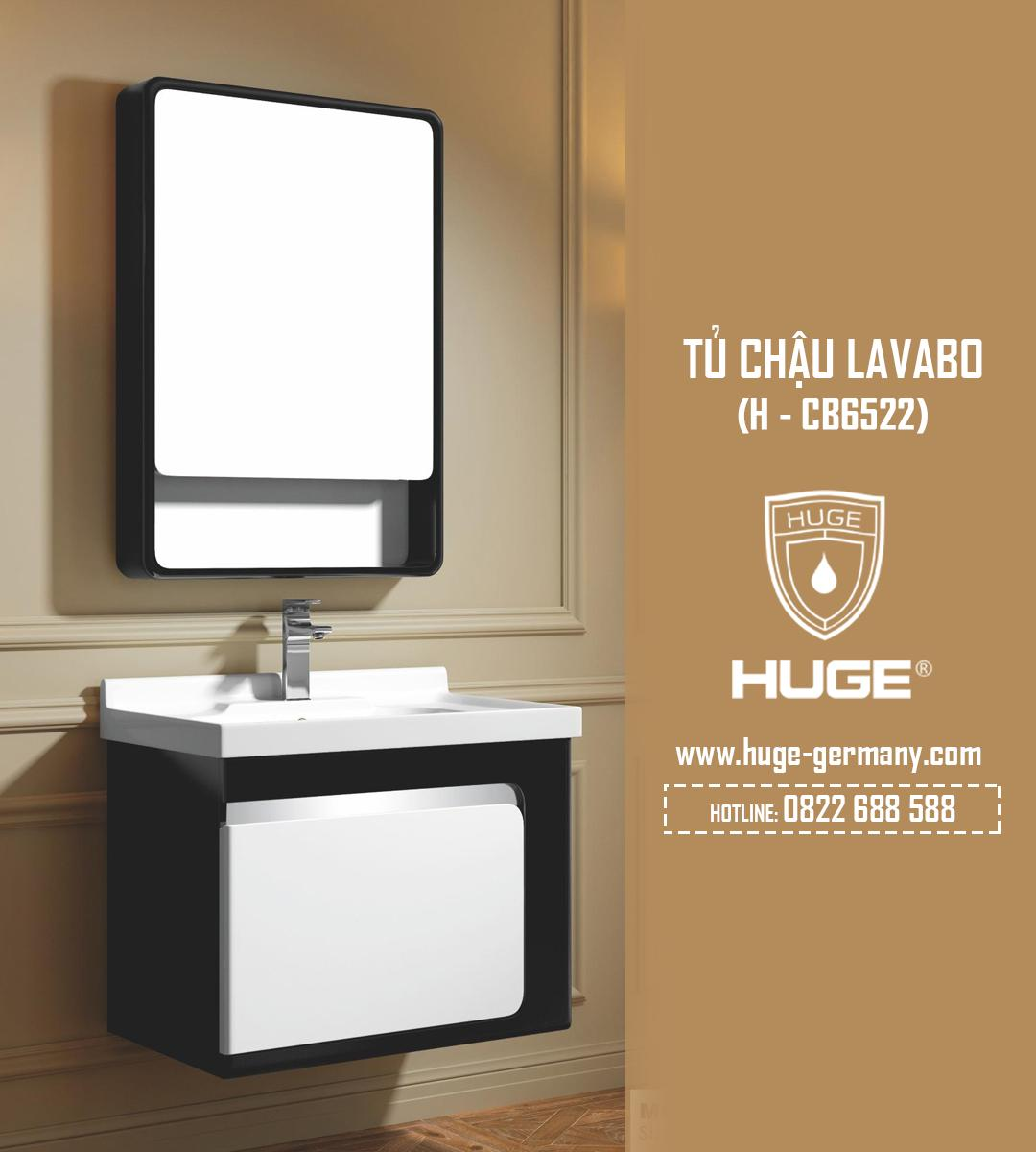 Tủ chậu lavabo 600 (H-CB6522)