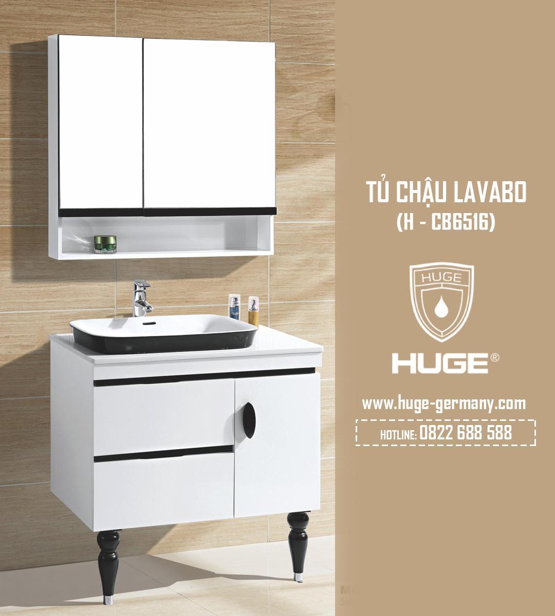 Tủ chậu lavabo 800 (H-CB6516)